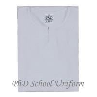 PhD White Baju Kurung Sekolah-Putih