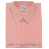 Size 10-14.5 PhD Peach Short Sleeves School Uniform | Baju Sekolah Lengan Pendek Pic