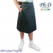 Waist 24-36 Length 23,24,25,26  PhD Olive Green Short Skirt School Uniform | Skirt Pendek Hijau Seragam Sekolah Perempuan