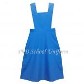 Waist 38 Length 39-43 Bib (16)(16.5)(17) PhD School Uniform Secondary Dress Pinafore  Seragam Sekolah Menengah Perempuan