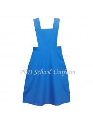 Waist 40 Length 41-43 Bib (16)-(17.5) PhD School Uniform Secondary Dress Pinafore| Seragam Sekolah Menengah Perempuan
