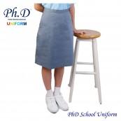 Waist 24-36 Length 23,24,25,26 Grey Short Skirt PhD School Uniform | Skirt Pendek Kelabu Seragam Sekolah Perempuan