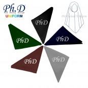 S, M, L & XL PhD School Tudung Koshibo Kain Licin Sekolah Black-Hitam, Navy-Biru Tua, Brown-Coklat, Grey-Kelabu, KRS Green-Hijau Tua
