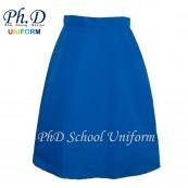 Waist 24-35 Length 23,24,25,26 PhD Turquoise Secondary School Short Skirt | Skirt Pendek Sekolah Menengah Perempuan