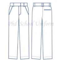 PhD Secondary School Long Pants (Non-Pleated)